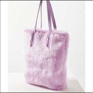 Large Lavender Tote Bag